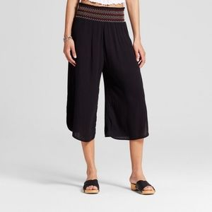 Mossimo Supply Co. Pants - Fashion summer Women's Gaucho Pants  Black S